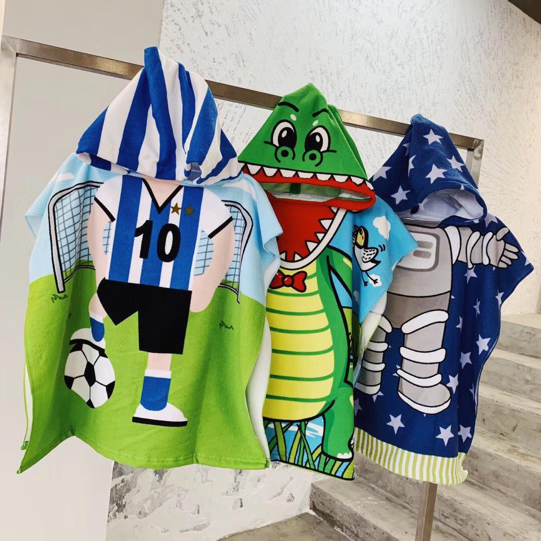 cartoon beach towel