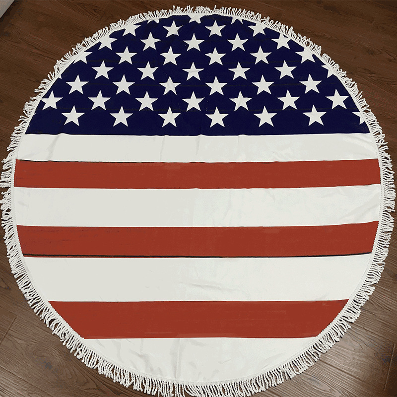 the Stars and the Stripes Beach Towel