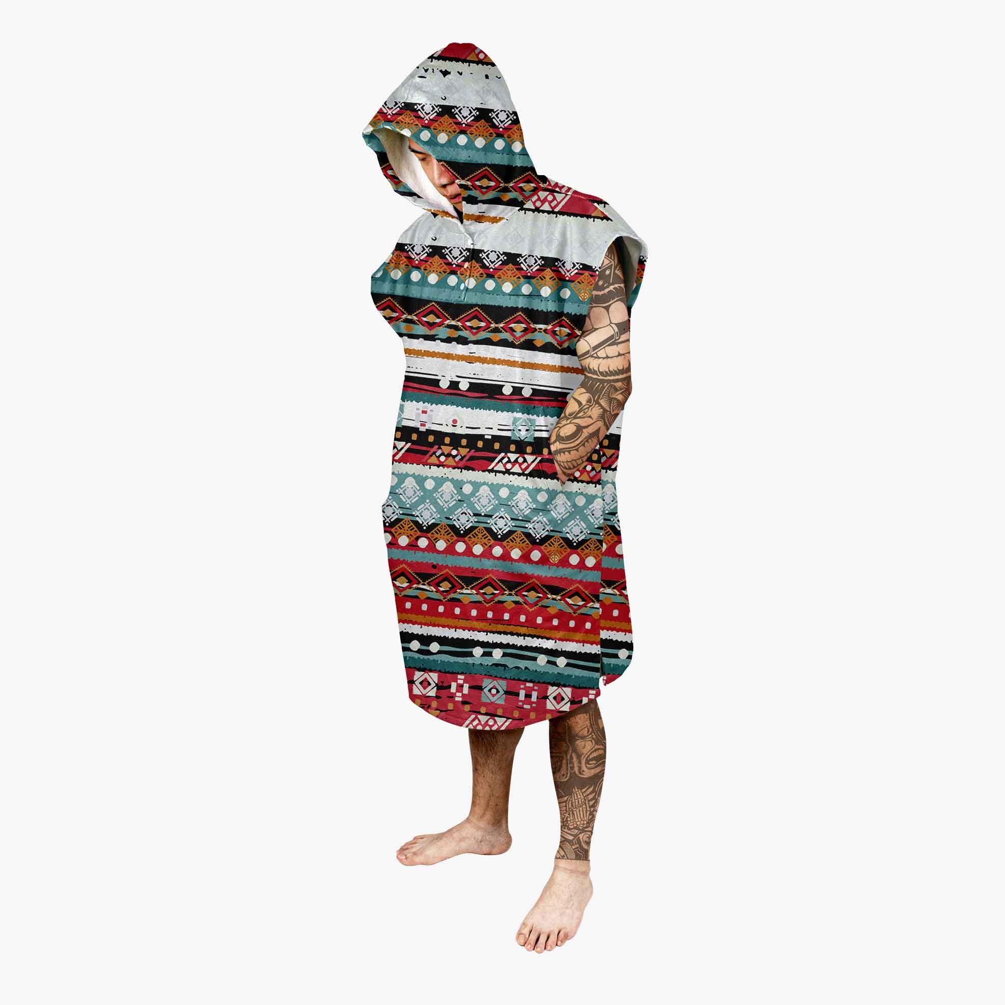 swimming towel hoodie