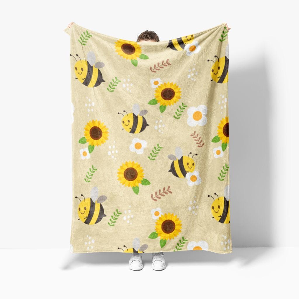 custom printed blanket